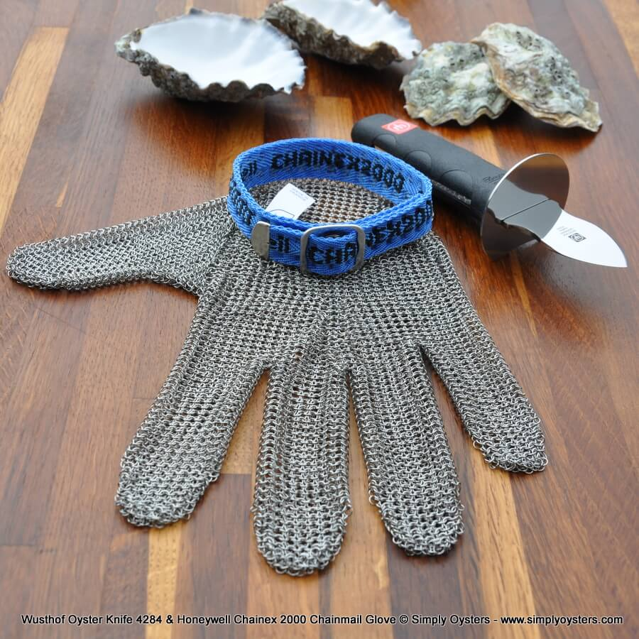 Oyster Knife & Glove Set