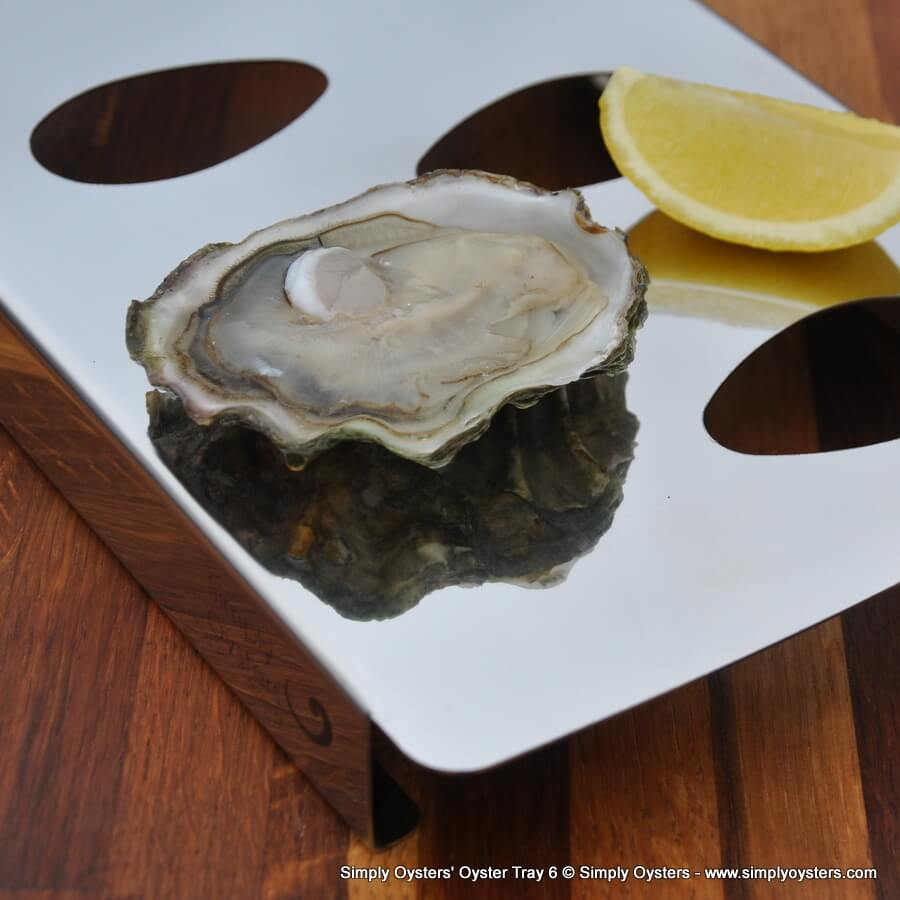 Simply Oysters' Oyster Tray 6
