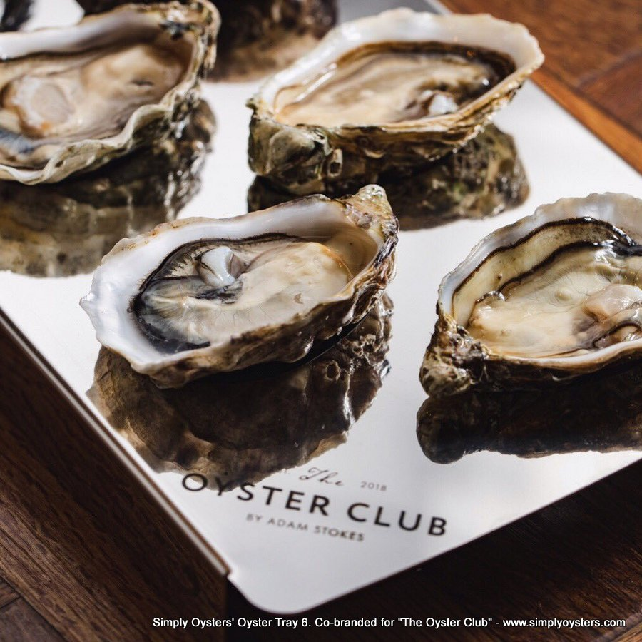 Simply Oysters' Oyster Trays - Trade