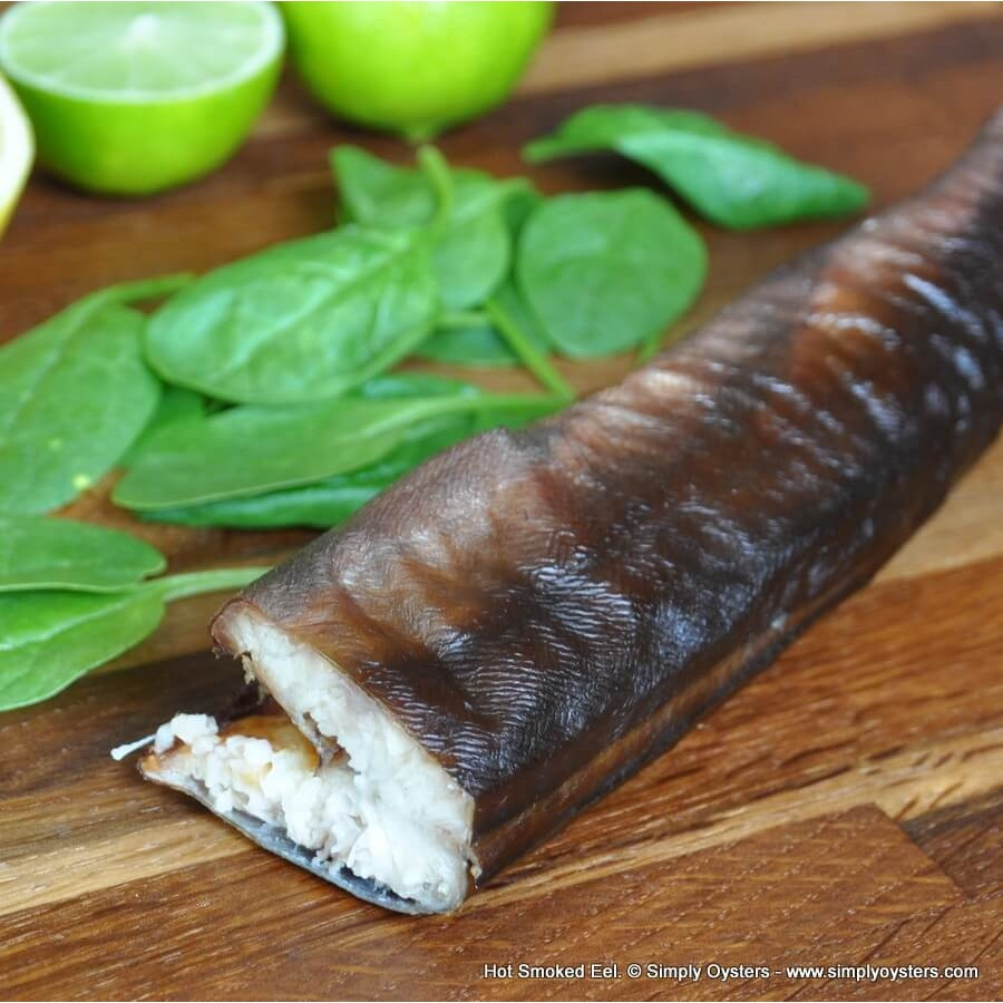 Hot Smoked Eel: Whole (550-600g)