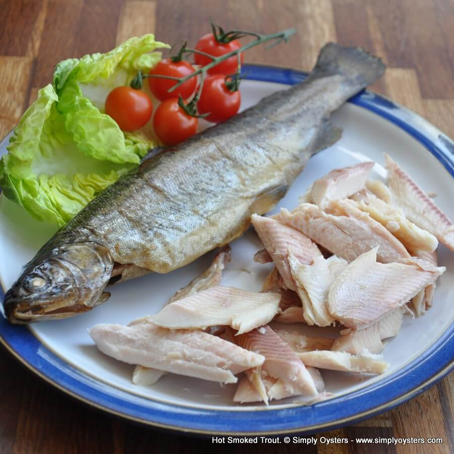 Hot Smoked Trout Whole (250g)