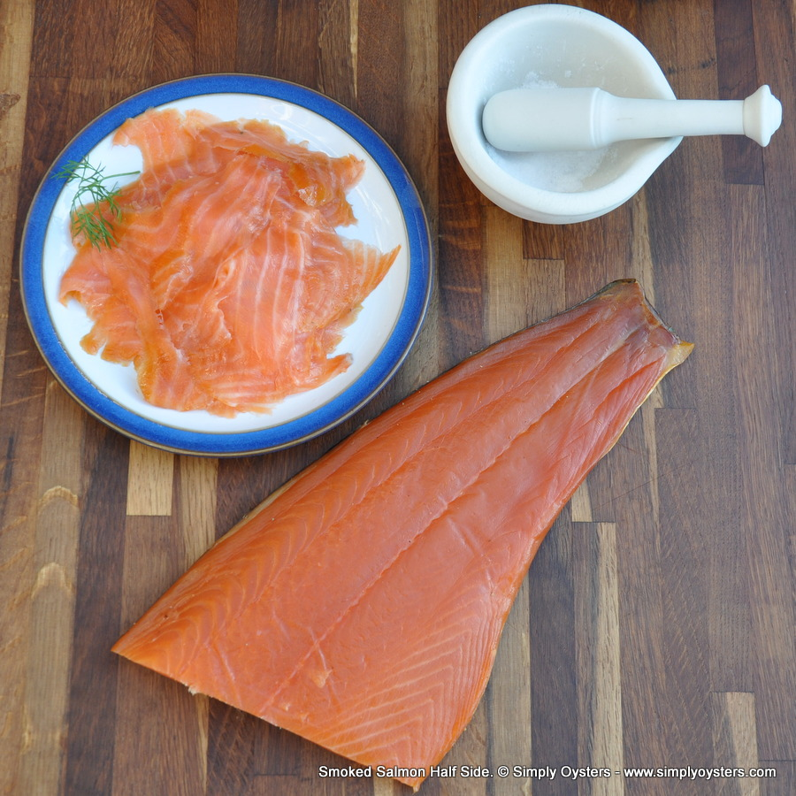 Smoked Salmon: Half-Side (500g)