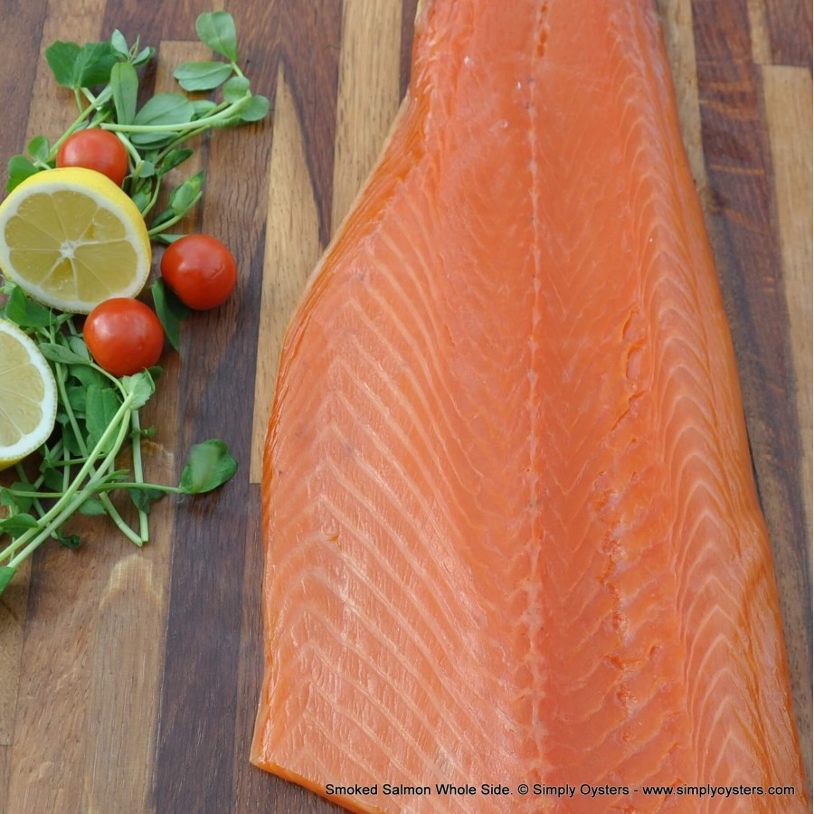 Smoked Salmon Whole-Side (1kg)