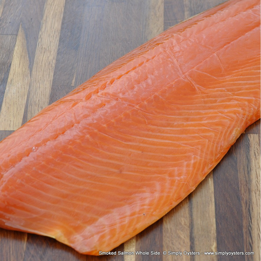 Smoked Salmon Whole-Side (1.2kg)