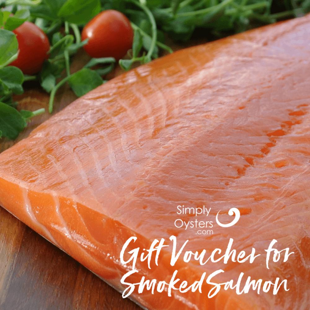 Gift Voucher for Smoked Salmon | UK