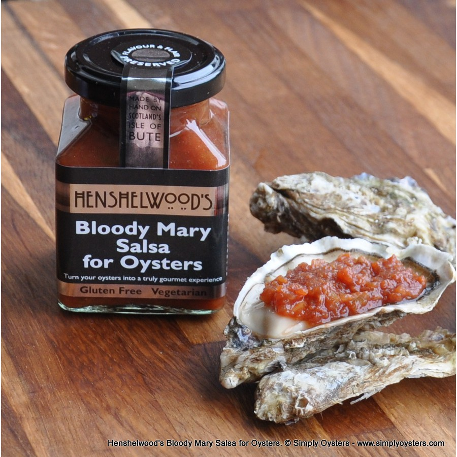 Henshelwood's Bloody Mary Salsa for Oysters