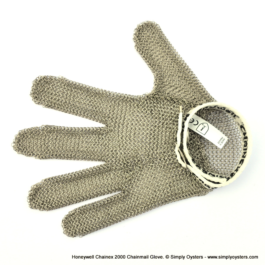 Honeywell Chainex 2000 Chainmail Oyster Glove (XXS-XXL)
