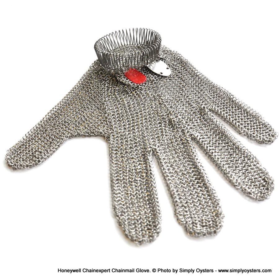 Honeywell Chainexpert Chainmail Oyster Glove (XXS-XXL)