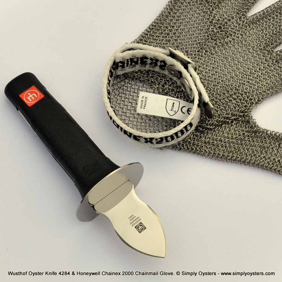 Oyster Knife & Glove Set