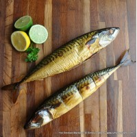 Hot Smoked Mackerel: Whole (350g)