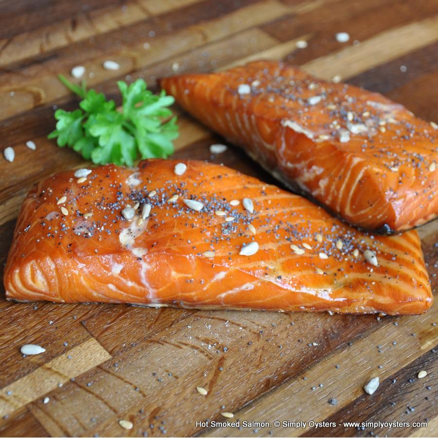 Hot Smoked Salmon Fillet (300g)