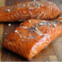 Hot Smoked Salmon Fillet (250g)