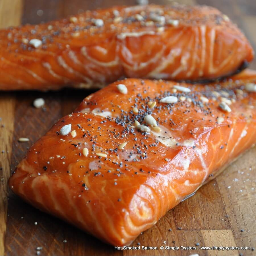 Hot Smoked Salmon: Fillet (250g)