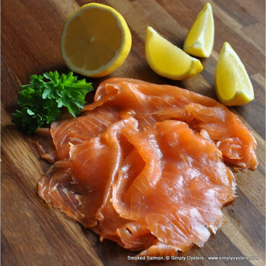 Smoked Salmon Sliced (200g Packs)